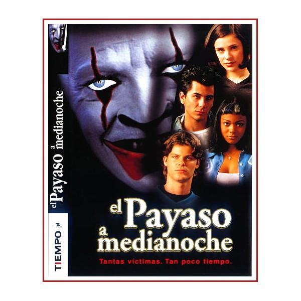 CARATULA ORIGINAL DVD EL PAYASO A MEDIANOCHE