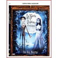 CARATULA DVD LA NOVIA CADÁVER ESPECIAL 2 DISCOS