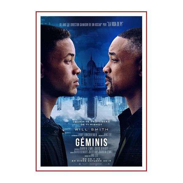GÉMINIS DVD 2019 Dirección Ang Lee