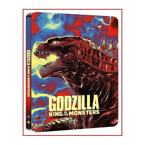 GODZILLA EL REY DE LOS MONSTRUOS DVD 2019 Dirección Michael Dougherty