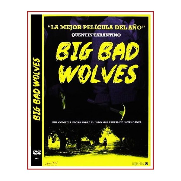 BIG BAD WOLVES DVD 2013 Comedia negra-Desapariciones