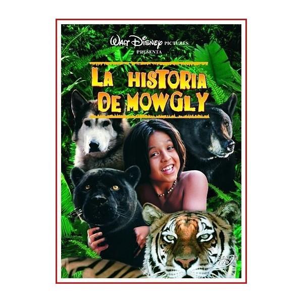 LA HISTORIA DE MOWGLY DVD 1998 Aventuras-Cine familiar