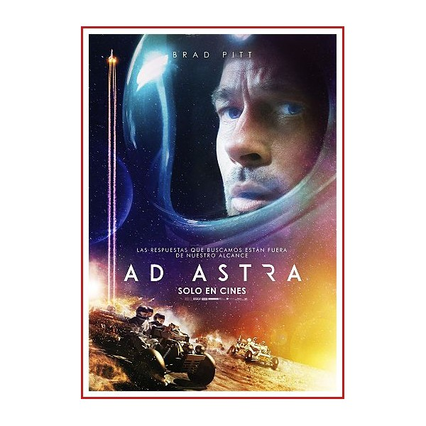AD ASTRA DVD 2019 Dirección James Gray