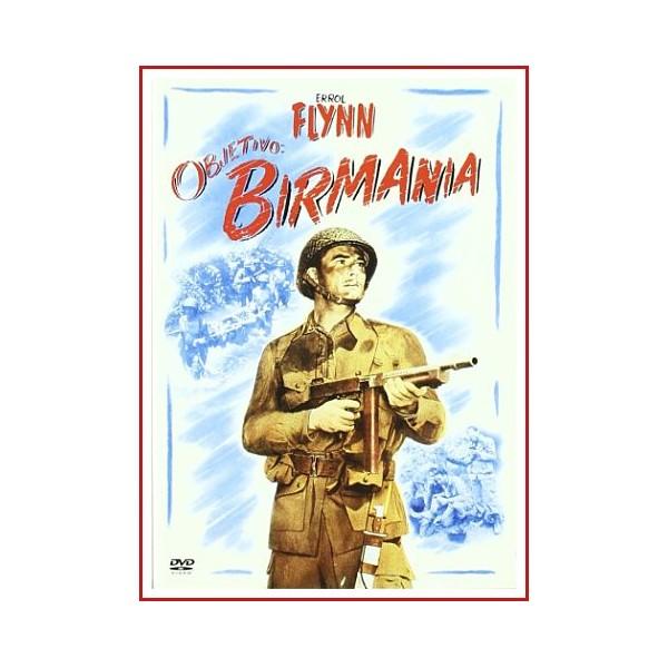 OBJETIVO BIRMANIA DVD 1945 Dirección Raoul Walsh