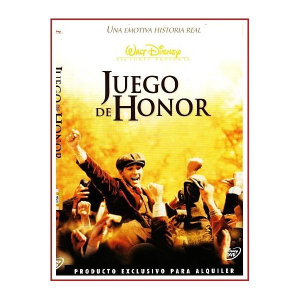 CARATUA DVD JUEGO DE HONOR