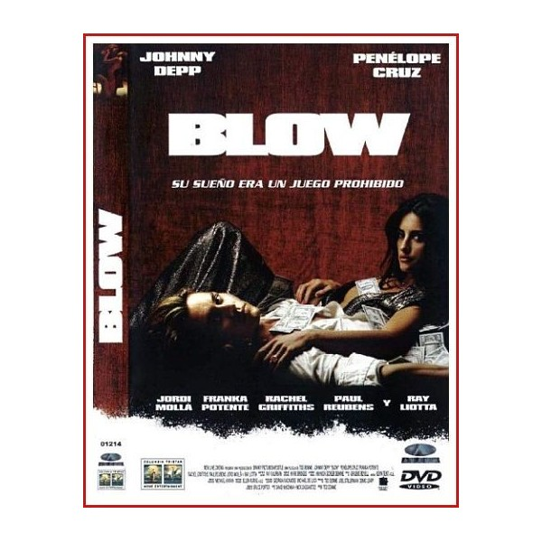 CARATULA ORIGINAL DVD BLOW