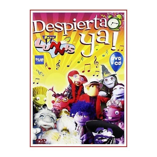 LOS LUNNIS ¡DESPIERTA YA! CD+DVD DVD 2009 Serie de TV-Animación