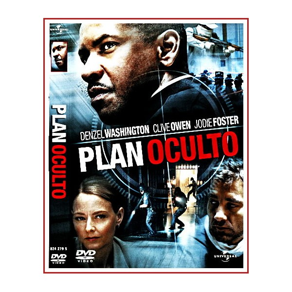 PLAN OCULTO DVD 2006 Dirección Spike Lee