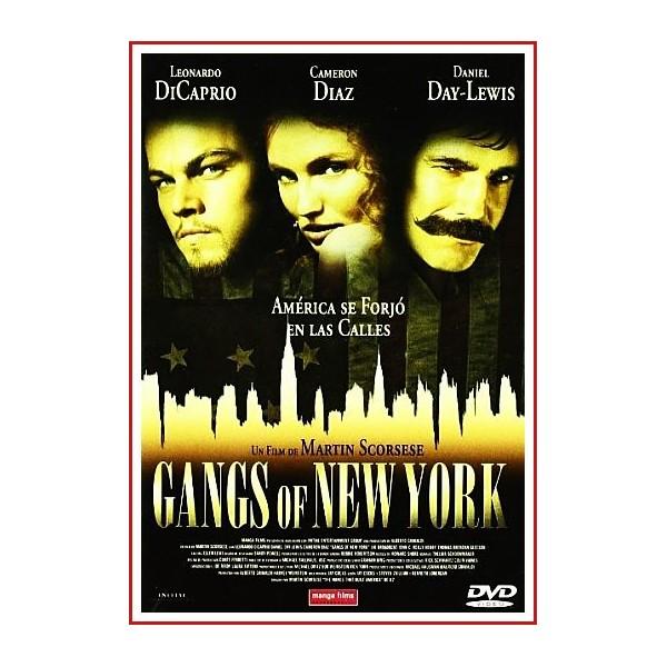 CARATULA ORIGINAL DVD GANGS OF NEW YORK