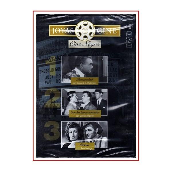 JOYAS DEL CINE: PERVERSIDAD + CON LAS HORAS CONTADAS + DETOUR DVD