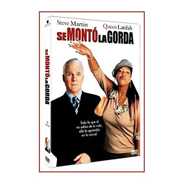 CARATULA ORIGINAL DVD SE MONTO LA GORDA