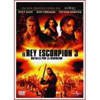 EL REY ESCORPION 3 BATALLA POR LA REDENCIÓN DVD 2011 Dir. Roel Reiné