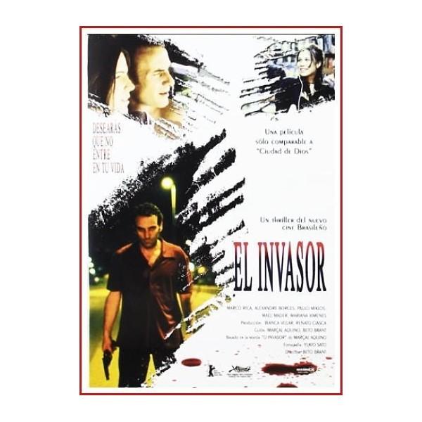 EL INVASOR DVD 2002 Dirección Beto Brant