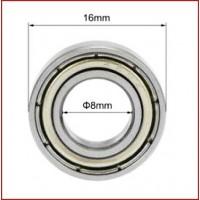 Rodamientos Bolas Z2 8mmx16mmx5mm