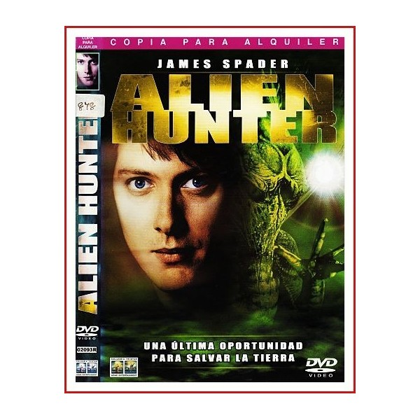 ALIEN HUNTER DVD 2003 Dirección Ron Krauss