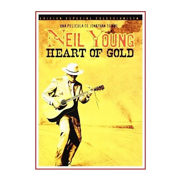 NEIL YOUNG HEART OF GOLD EDICIÓN ESPECIAL COLECCIONISTA 2 DISCOS