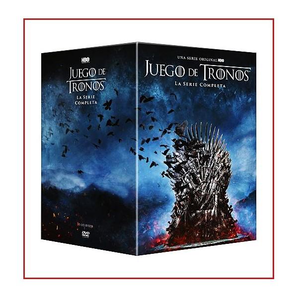 JUEGO DE TRONOS EE LIMITADA T1-8 BLU RAY 2019 Pack Temporadas 1-8