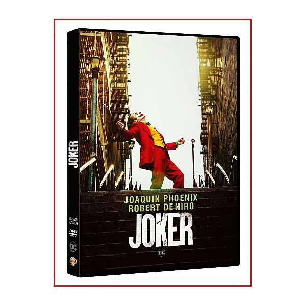 JOKER DVD 2019 THRILLER CÓMIC PAYASOS Dirección Todd Phillips