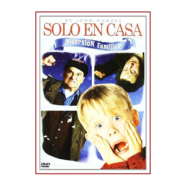 SOLO EN CASA Dvd 1990 Director Chris Columbus