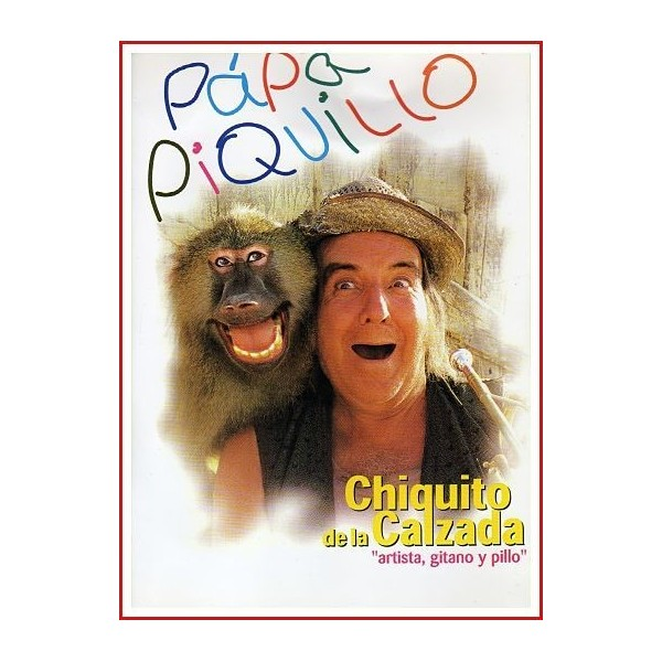 PÁPA PIQUILLO 1998 DVD de Familia