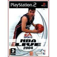 NBA LIVE 2004 PS2 2004