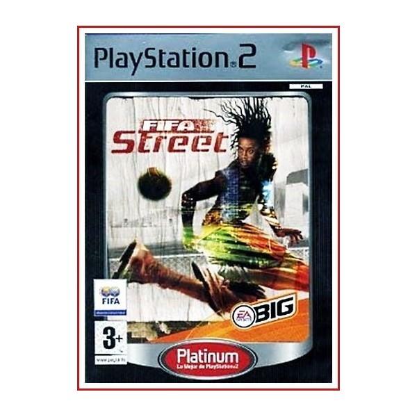 FIFA STREET 2012 Ps2 Con Manual de instrucciones