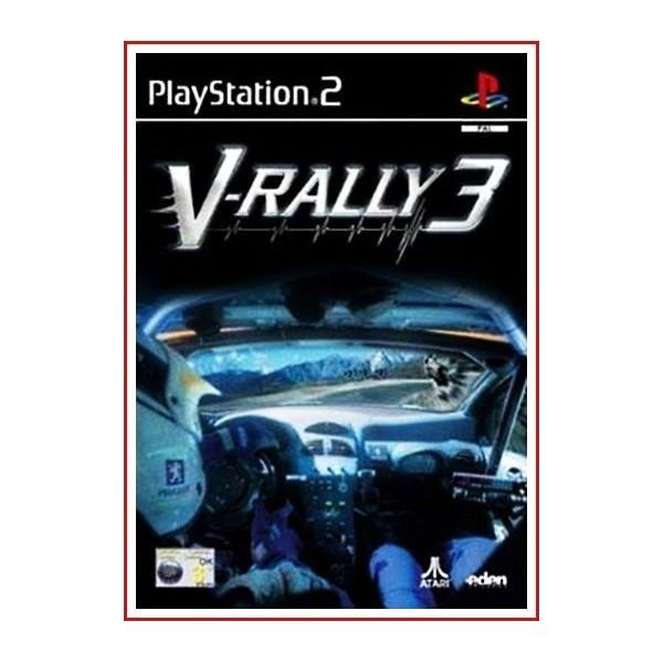 V-RALLY 3 2002 Ps2 Con Manual de Uso