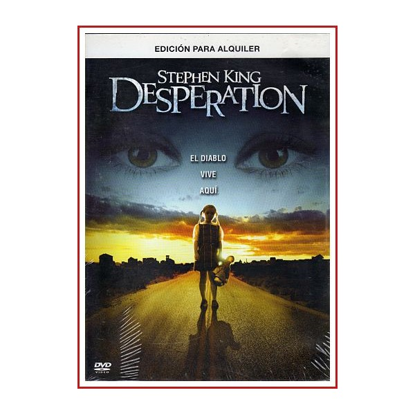 DESPERATION STPEHEN KING DVD 2006 Dirigida por Mick Garris
