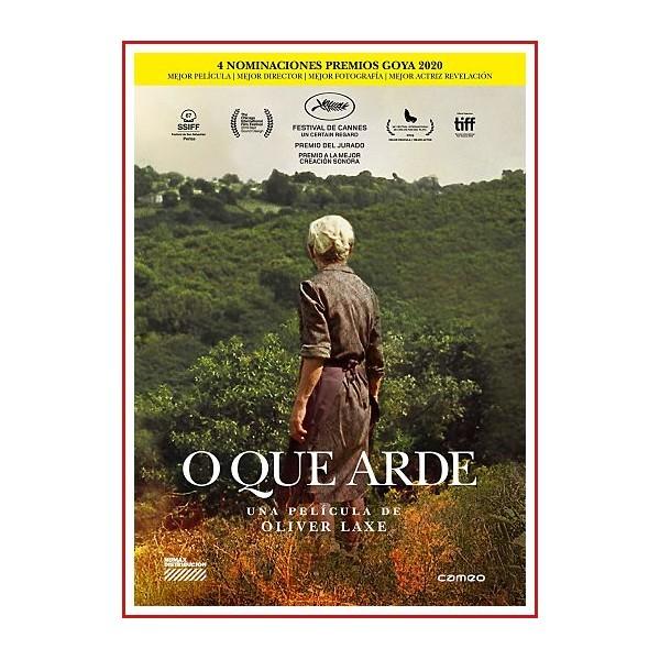 O QUE ARDE (LO QUE ARDE) DVD 2019 Dirección Oliver Laxe