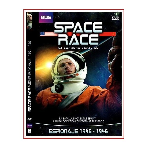 SPACE RACE (LA CARRERA ESPACIAL) ESPIONAJE 1945 - 1946 2005 DVD