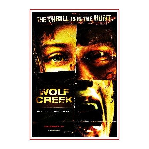 WOLF CREEK DVD 2005 Dirigida por Greg McLean