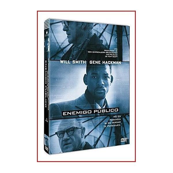 ENEMIGO PÚBLICO 1998 Dvd de Intriga