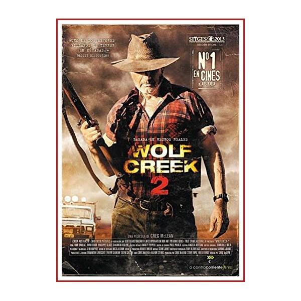 WOLF CREEK 2 DVD 2013 Dirección Greg McLean