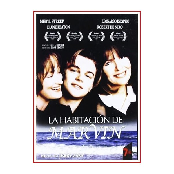 LA HABITACIÓN DE MARVIN 1996 DVD de un enfermedad
