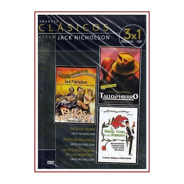 CICLO JACK NICHOLSON Y 3X1 PELÍCULAS