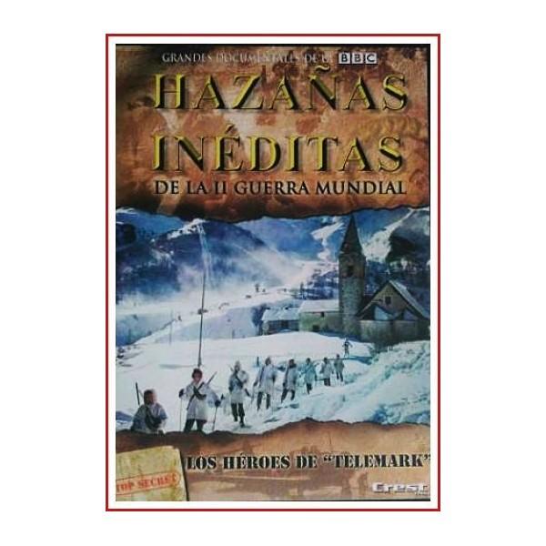 HAZAÑAS INÉDITAS DE LA II GUERRA MUNDIAL 2008 DVD de Héroes Estuche Slim
