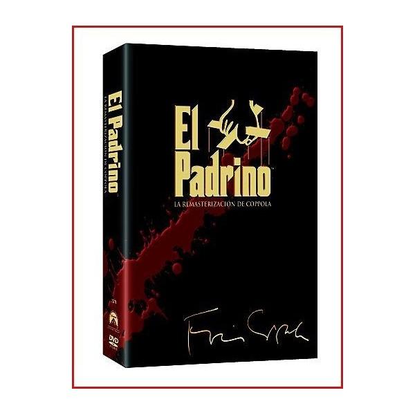 TRILOGÍA EL PADRINO (LA RESMASTERIZACIÓN DE COPPOLA) 5 DVD