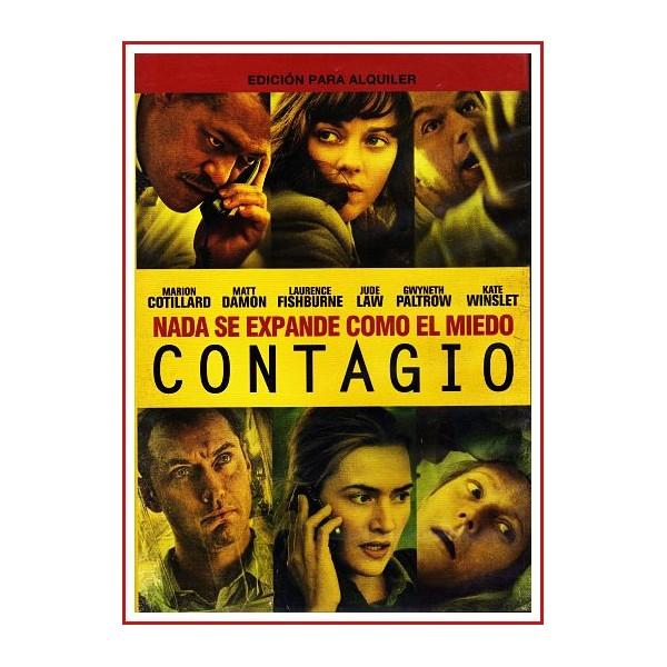 CONTAGIO DVD 2011 Dirección Steven Soderbergh