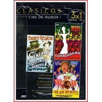 CICLO CINE DE HUMOR I TRANDES CLÁSICOS 1926 - 1947 - DVD de Cine mudo