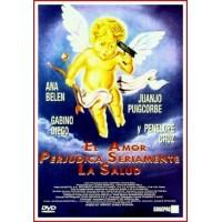 EL AMOR PERJUDICA SERIAMENTE LA SALUD 1996 DVD Comedia sofisticada -