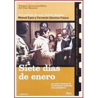 SIETE DÍAS DE ENERO 1979 DVD de Política - Estuche Slim