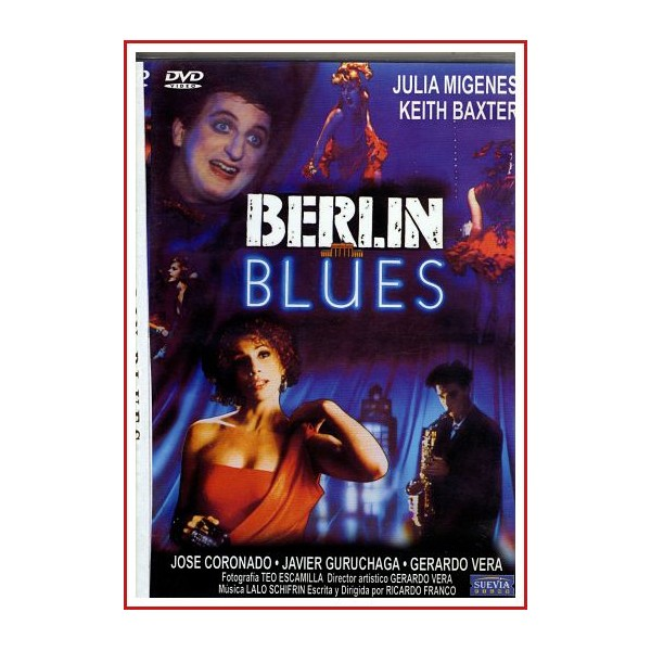 BERLÍN BLUES 1988 DVD de Música