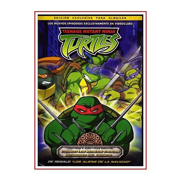 TURTLES (TORTUGAS NINJA) NUEVOS EPISODIOS 2009 DVD de Aventuras Ninja
