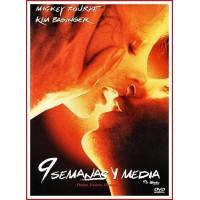9 SEMANAS Y MEDIA DVD 1986 Dirección Adrian Lyne