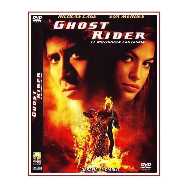GHOST RIDER EL MOTORISTA FANTASMA DVD