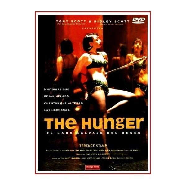 THE HUNGER (El lado salvaje del deseo) 1997 DVD de Terror-Erótico