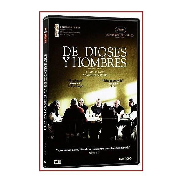 DE DIOSES Y HOMBRES 2010 DVD de Religión-Hechos reales