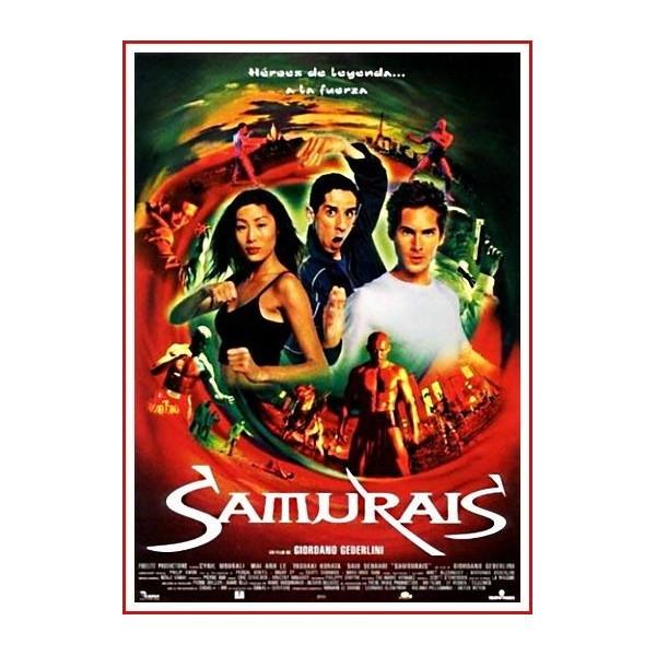 SAMURAIS 2002 DVD de Artes marciales-Samuráis