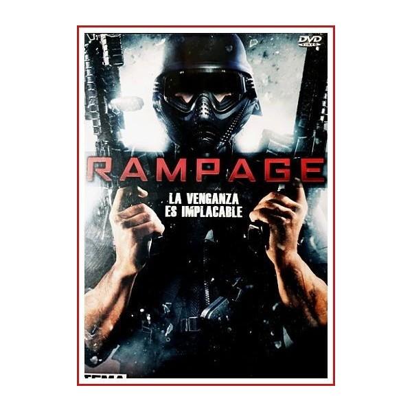 RAMPAGE (Francotirador en libertad) DVD 2009 - La historia está centrada en Bill (Brendan Fletcher), un joven desequilibrado...