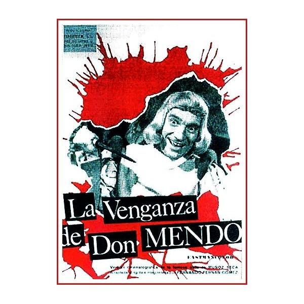 LA VENGANZA DE DON MENDO 1961 DVD de Edad Media-Teatro